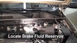 toyota rav4 brake problems 2006 2012 toyota rav4 brake fluid level check 2007 toyota rav4