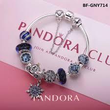 bracelet pandora murano images Pandora blue charm bracelet 9 pcs charms jpg