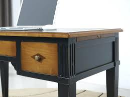bureau bois noir meuble bois et noir meuble en bois noir meuble noir et bois meuble