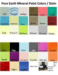 pure earth paint color chart u2022 redposie