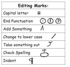 proofreading marks worksheets 3rd grade englishlinx quotation