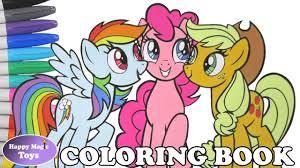 mlp rainbow dash pinkie pie applejack coloring book pages my