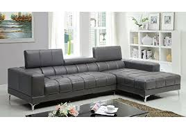 L Shaped Sectional Sofa With Chaise Product Reviews Buy 1perfectchoice Bourdet Contemporary L Shaped