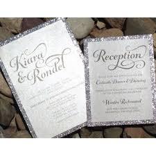 wedding invitations glitter wedding invitation glitter bridal shower invitations engagement