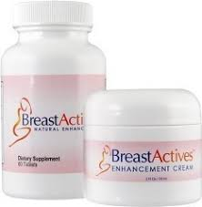 breast actives kit 60 capsules bottle 2 fl oz jar of cream