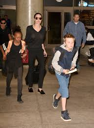 shiloh jolie pitt gets super short haircut u2014 looks just like brad