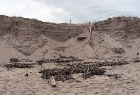 Nauset Marsh Cape Cod - the aftermath in eastham