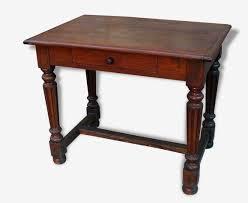 bureau rustique table bureau rustique en chêne bois matériau marron vintage