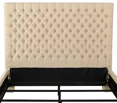 denise austin home cannes fully upholstered full queen button