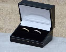 wedding rings in box classic ring box wooden ring box in black presenting your