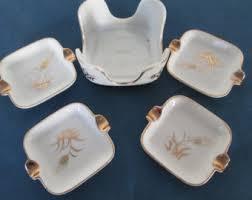 lefton china pattern lefton ashtray set etsy