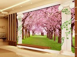 european romantic cherry tree background wall mural 3d wallpaper european romantic cherry tree background wall mural 3d wallpaper 3d wall papers for tv backdrop high quality wallpaper high quality wallpapers from
