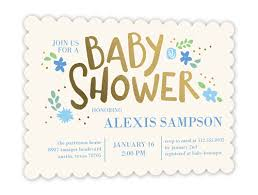 buggy and banner boy 5x7 greeting card baby shower invitations