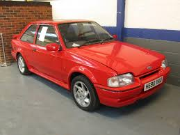 90 Ford Escort 1990 Ford Escort Rs Turbo Anglia Car Auctions