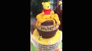winnie the pooh baby shower cakes winnie the pooh baby shower cake