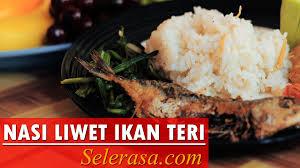 cara membuat nasi bakar khas bandung resep dan cara membuat nasi liwet ikan teri youtube
