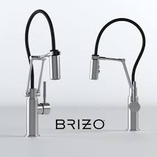 articulating kitchen faucet 3d brizo solna articulating kitchen faucet cgtrader