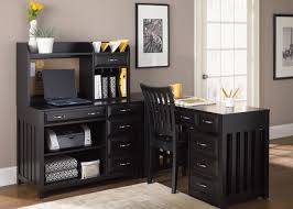 Black L Shaped Desk With Hutch Black L Shaped Computer Desk With Hutch Designs Ideas And Decors