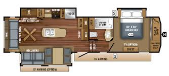 bunkhouse fifth wheel floor plans 2018 eagle fifth wheel floorplans prices jayco inc