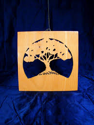 Gift Tree Free Shipping Free Shipping Handmade Scroll Saw Picture Art Wood Wall Decor