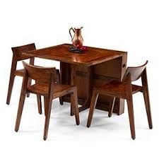 Folding Dining Table With Chairs All Folding Dining Table Sets Check 37 Amazing Designs Buy