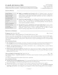 Sample Resume For Finance Executive by Sample Financial Controller Resume Free Resume Example And