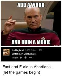 Add Memes To Pictures - add aword and ruin a movie doubleglazed 3350 points 23h watchmen