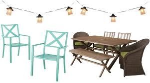 Target Outdoor Furniture - sara u0027s backyard bridge party target style haute off the rack