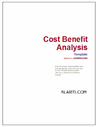 Free Cost Benefit Analysis Template Excel Cost Benefit Analysis Template Software Software Templates