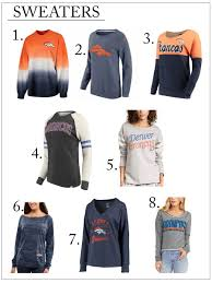 denver broncos must jackets and sweaters chic talk