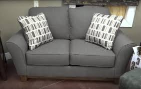 Couch Furniture Ashley Furniture Janley Slate Sofa 438 Review Youtube