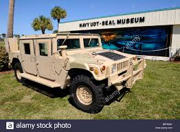 hummer on display at national navy udt seal museum vero beach