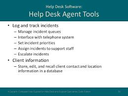 track it help desk software chapter 6 help desk operation ppt download