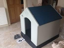 dog kennel extra large plastic fresh supply uk