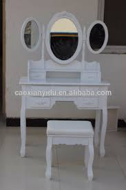 french style dressing table cheap french style dressing table with 3 mirrors and chair buy wooden