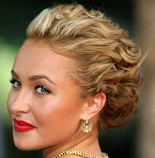 updo hairstyle long curly hair popular long hairstyle idea