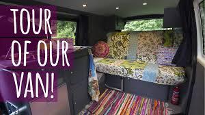 volkswagen van interior ideas van life vlog take a look inside our vw campervan youtube