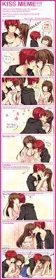 kiss meme favourites by neneruki on deviantart