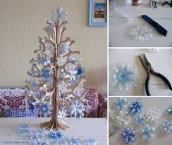 creative ideas diy snowflake tree ornaments from