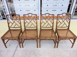 faux bamboo chippendale chairs circa who