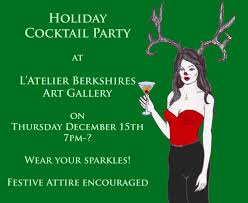 holiday cocktail party thursday december 15th