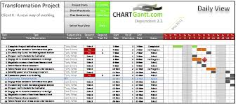 Excel 2013 Gantt Chart Template Excel Machine Scheduling Templates Software 10 Hour