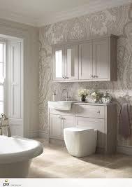 Wallpapered Bathrooms Ideas Best 25 Damask Wallpaper Ideas On Pinterest Grey Damask