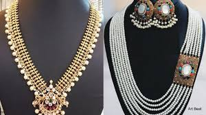 long pearls necklace images Beautiful long pearl necklace designs gold pearls necklace jpg