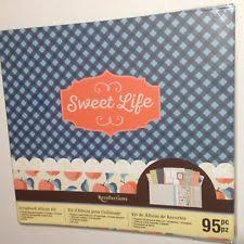 recollections photo album precious moments baby scrapbook album 12x12 10 pages expandable