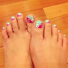 19 best pedicures flowers u0026 french designs images on pinterest