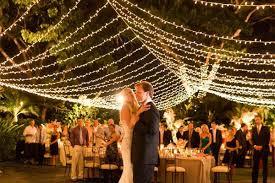 outdoor wedding lighting wedding lights marrying later in