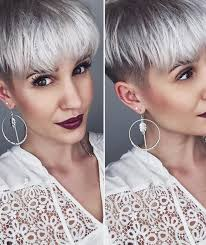 pixie grey hair styles 20 funky hairstyles for short thick hair crazyforus