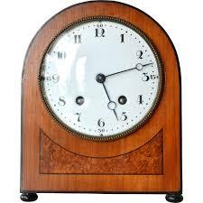 early art deco cottage desk clock lenzkirch clock factory