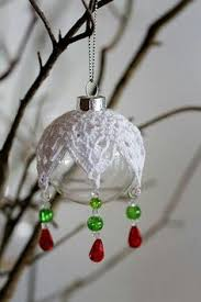 free crocheted ornament cover patterns crochet springtime satin
